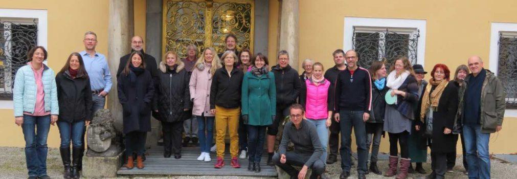 Städtisches Münchenkolleg. Lehrerkollegium inTutzing beim Pädagogischen Tag 2019 Gymnasium Zweiter Bildungsweg
