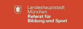 Referat für Bildung und Sport Logo für den zweiten Bildungsweg am Münchenkolleg / Abitur nachholen / Mittlere Reife nachholen